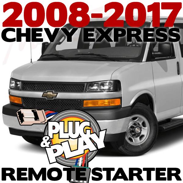 Chevrolet Express Van Plug n Play Remote Starter Kits