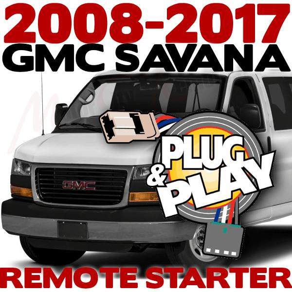 2008-2017 GMC SAVANA Plug n Play Remote Starter Kits