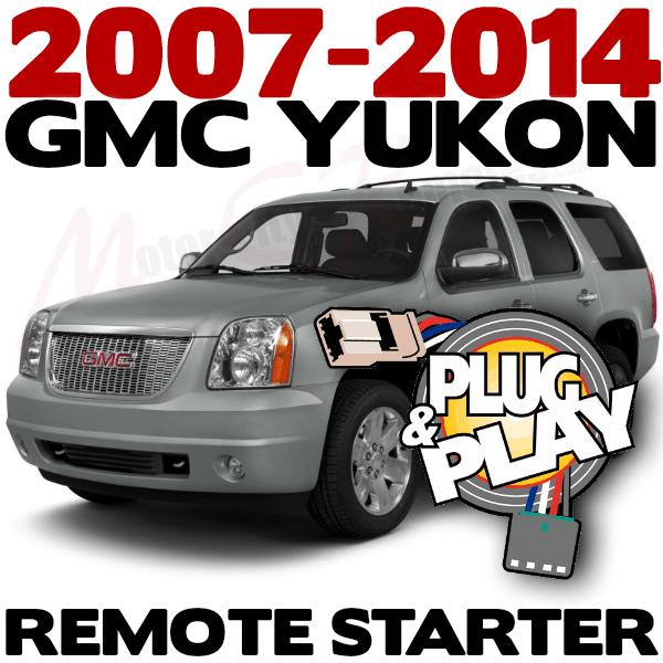 2014 GMC YUKON DENALI Plug n Play Remote Starter Kits