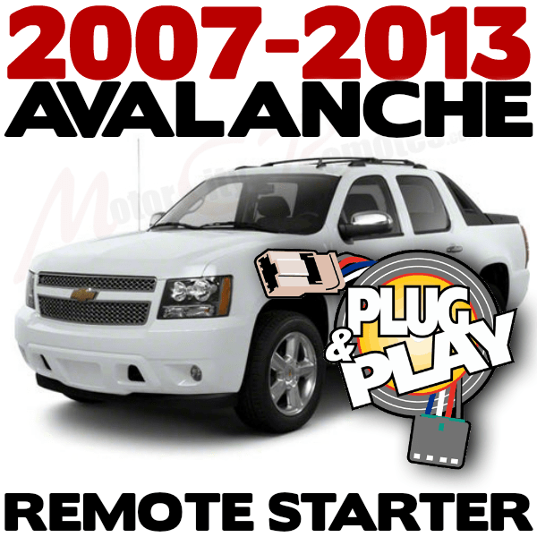 Chevrolet Avalanche Plug n Play Remote Starter Kits