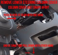 Remove Chevy Silverado Lower Steering Column Cover