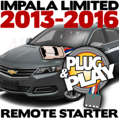 2013-2016 Chevrolet Impala Limited Plug n Play