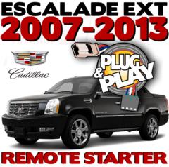 CADILLAC ESCALADE EXT PLUG PLAY REMOTE STARTERS