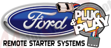 Custom Plug Play Remote Starters for Ford
