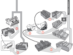 Ford Super Duty Diesel Remote Starter T-Harness