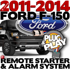 Ford F150 Plug and Play Remote Starters with Alarm