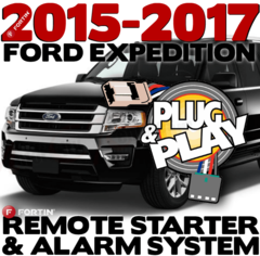 Ford Expedition Plug Play Fortin Remote Starters Alarm System