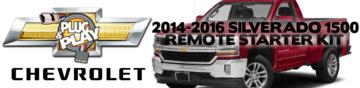 2014 2015 2016 Chevy Silverado 1500 Plug Play Remote Starter