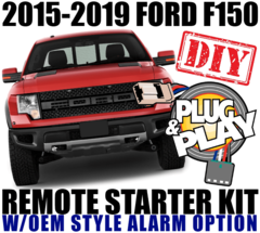 FORD F150 PUSH TO START BUTTON PLUG PLAY REMOTE STARTER