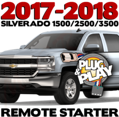2014-2016 Chevy Silverado 1500 Plug n Play Remote Starter Kits