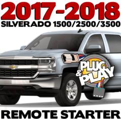 2017 - 2018 Chevrolet Silverado Remote Starters
