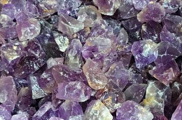amethyst tumbling rocks