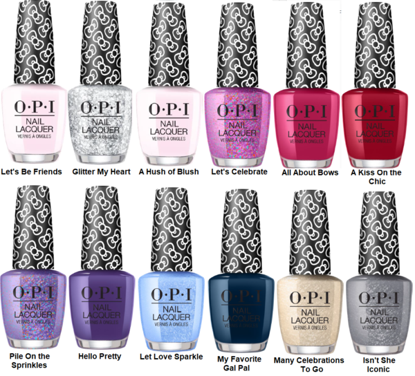 OPI Fall 2019 Scotland Collection