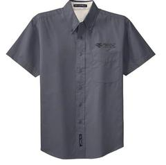 BTS Port Authority Short Sleeved Button down