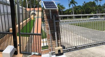 Solar Gates - Slide or Swing