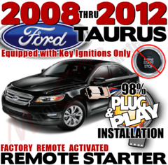 Ford Taurus Remote Starter Kit