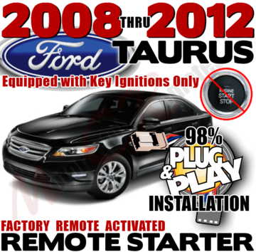 DIY Ford Taurus Plug and Play Remote Starter Kit