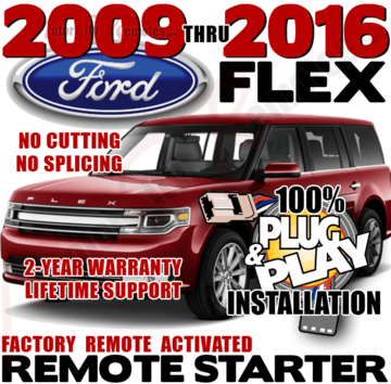 DIY Ford FLEX Remote Starter Kit
