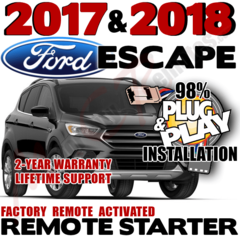 FORD 2017 2018 ESCAPE REMOTE STARTER
