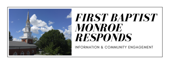 First Baptist Monroe Responds
