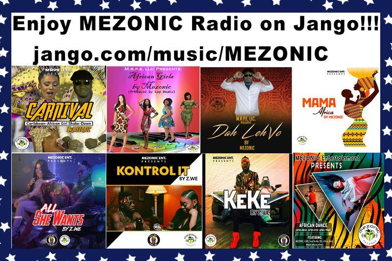 Listen to MEZONIC now on Jango Radio!!!!