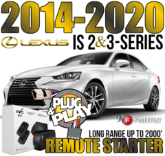 2014-2020 TOYOTA IS 350 LONG RANGE PLUG AND PLAY REMOTE STARTER KITS