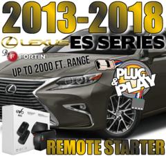 PLUG AND PLAY REMOTE STARTER 2013-2018 Lexus ES SERIES