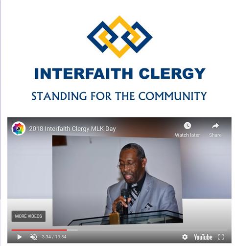 2018 Interfaith Clergy MLK Day