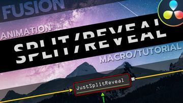 Split Reveal (Fusion Macro)