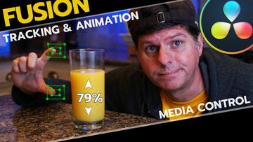 I am THIRSTY, Animation, Tracking, Expressions Tutorial | Davinci Resolve Fusion