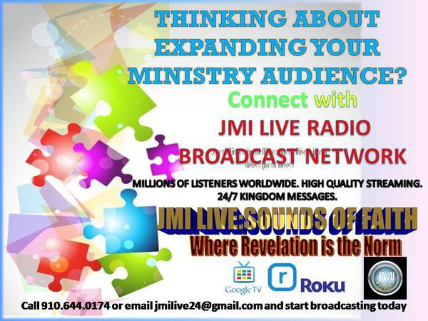 Listen to JMI LIVE:Sounds of Faith