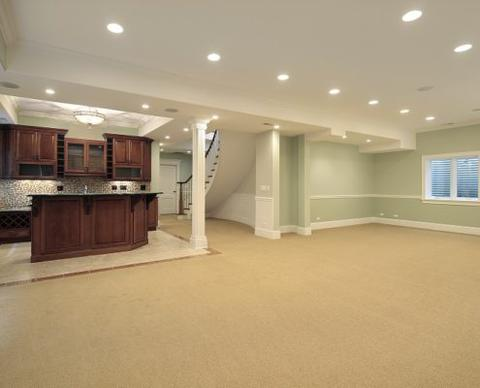 Basement Remodel with Kitchen addition