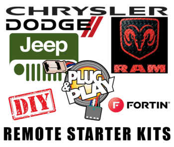 Chrysler, Dodge, Jeep, Ram Remote Starters