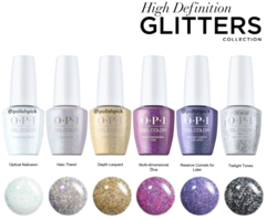 OPI GelColor High Def Glitter Collection