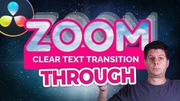 Text ZOOM Transition