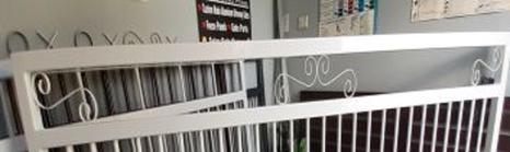 Scroll Top Slide and Swing Gates Available