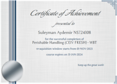 Perishable Handling Certificate-1