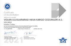 IATA Accredited Agent Certificate