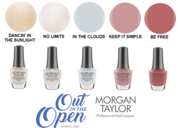 Morgan Taylor Spring 2021 - Out in the Open