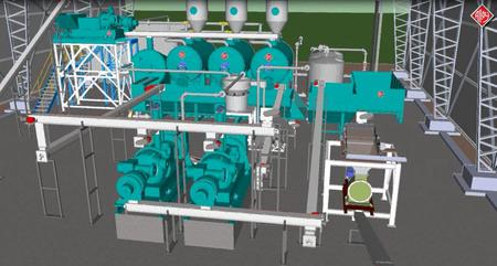 Virtual Tour of an Alloy Rendering Plant