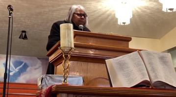 Watch a clip of Pastor Simmons Preaching the Word of God!