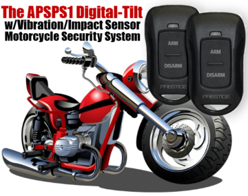 APSPS1 Motorcycle alarm and security system