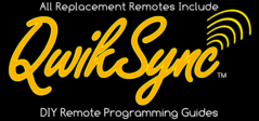 Replacement Remotes Programming