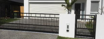 Solar Gates - Slide or Swing