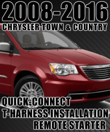 DIY CHRYSLER TOWN AND COUNTRY REMOTE STARTER