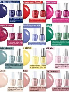 OPI Spring 2021 Hollywood Collection