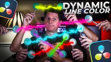 Dynamic Line Colors