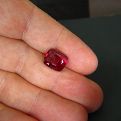 gemstone photo Ceylon Rhodolite 6.84 carat